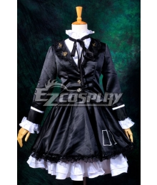 Vocaloid Hatsune Miku Secret Police Lolita Cosplay Costume-Y310