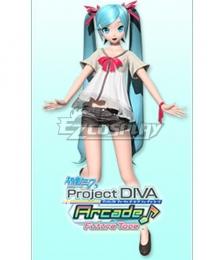 Vocaloid Hatsune Miku Shiny Cosplay Costume