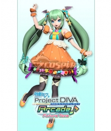 Vocaloid Hatsune Miku Sweet Pumpkin Cosplay Costume