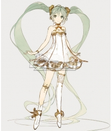 Vocaloid Hatsune Miku Symphony 2020 5th Anniversary Cosplay Costume