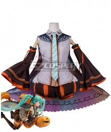 Vocaloid Hatsune Miku Trick or Miku Figure 2017 Halloween Cosplay Costume