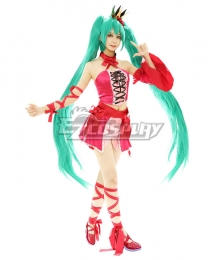 Vocaloid Hatsune Miku Vintage Dress Ver. Cosplay Costume