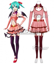 Vocaloid Heart Hunter Hatsune Miku Cosplay Costume