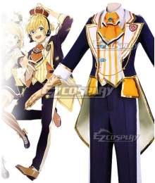 Vocaloid Kagamine Rin 10th Anniversary Uniform Suit Cosplay Costume