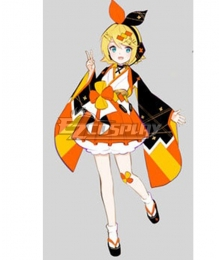 Vocaloid Kagamine Rin 2020 Magical Mirai Cosplay Costume