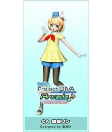 Vocaloid Kagamine Rin CA Cosplay Costume