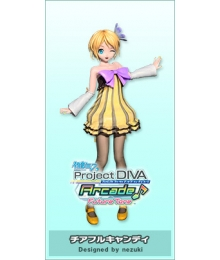 Vocaloid Kagamine Rin Cheerful Candy Cosplay Costume