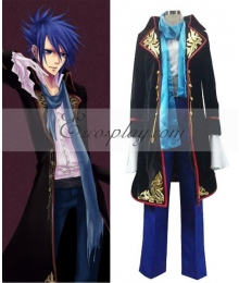 Vocaloid Sandplay Singing of The Dragon Kaito Cosplay Costume