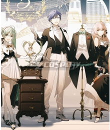Vocaloid Kaito Symphony 2020 5th Anniversary Yokohama and Osaka Performance Cosplay Costume