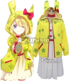 Vocaloid Lolipop Factoey Luka Cosplay Costume