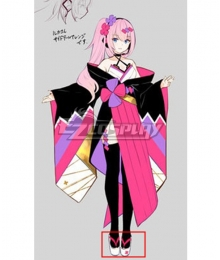 Vocaloid Megurine Luka 2020 Magical Mirai Pink Cosplay Shoes