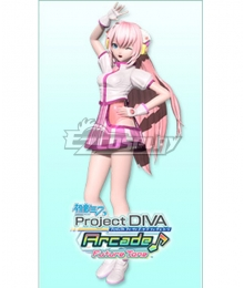 Vocaloid Megurine Luka Cyber Nation Cosplay Costume