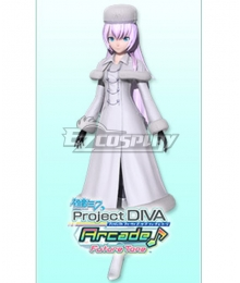 Vocaloid Megurine Luka Eternal White Cosplay Costume