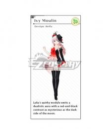 Vocaloid Megurine Luka Ivy Moulin Cosplay Costume