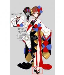 Vocaloid Meiko 2020 Magical Mirai Red Cosplay Shoes