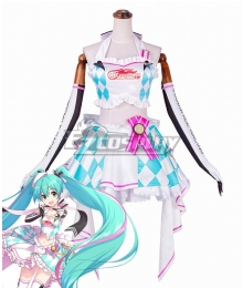 Vocaloid Racing Miku 2019 Hatsune Miku Cosplay Costume