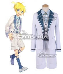 Vocaloid Snow Miku 2019 10th Anniversary Kagamine Len Cosplay Costume