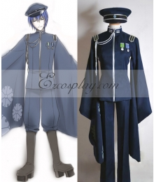 Vocaloid Thousand Cherry Tree Kaito Uniform Cosplay Costume