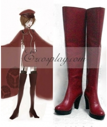 Vocaloid Thousand Cherry Tree Meiko Cosplay Boots