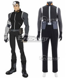 Voltron: Legendary Defender Shiro Takashi Shirogane Cosplay Costume