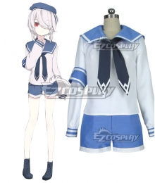 Vtuber Nijisanji Paryi Sailor Suit Cosplay Costume