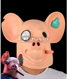 Watch Dogs: Legion Pig Head Mask Halloween Cosplay Accessory Prop