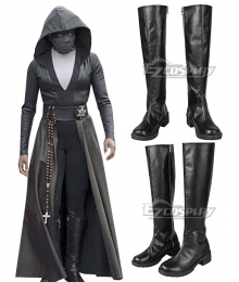 Watchmen Season 1  Angela Abar Black Shoes Cosplay Boots