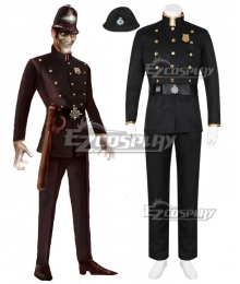 We Happy Few The Bobby Halloween Cosplay Costume