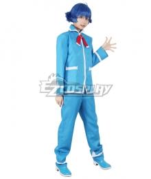 Welcome to Demon School! Iruma-kun Iruma Suzuki Blue Cosplay Shoes