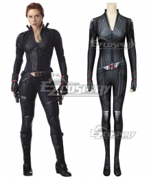 Marvel Avengers: Infinity War Black Widow Natasha Romanoff Zentai Jumpsuit Cosplay Costume