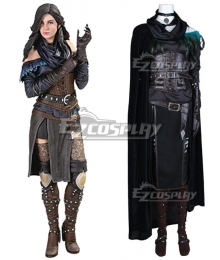 Witcher 3 Wild Hunt Yennefer 2nd Edition Cosplay Costume