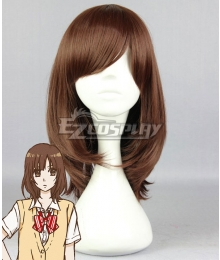 Wolf Girl and Black Prince Erika Shinohara Brown Cosplay Wig