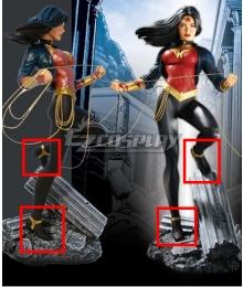Wonder Woman 600 Wonder Woman Black Cosplay Shoes
