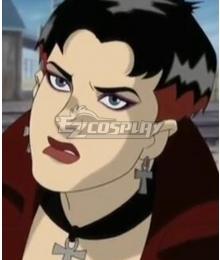 X-men Evolution Scarlet Witch Black Cosplay Wig