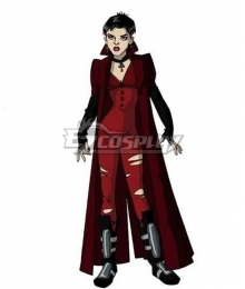 X-men Evolution Scarlet Witch Cosplay Costume