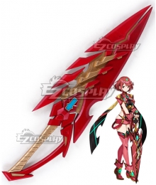 Xenoblade Chronicles 2 Pyra Red Cosplay Weapon Prop