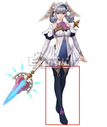 Xenoblade Chronicles: Definitive Edition Melia Black Shoes Cosplay Boots