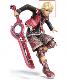 Xenoblade Chronicles Shulk Golden Cosplay Wig