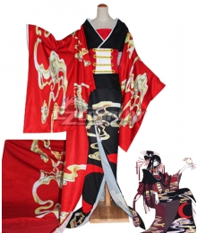 XXXholic Yūko Ichihara Ichihara Yuuko Kimono Cosplay Costume