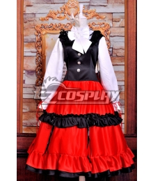 Axis Powers Hetalia Hungary 801 Elizaveta Ethnic Clothing Cosplay Costume Deluxe Version