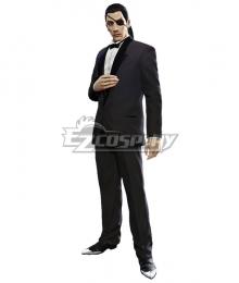 Yakuza Goro Majima Black Cosplay Costume