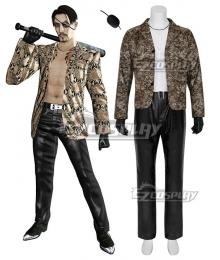 Yakuza Goro Majima Cosplay Costume