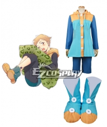 The Seven Deadly Sins / Nanatsu no Taizai King Grizzly's Sin of Sloth Cosplay Costume