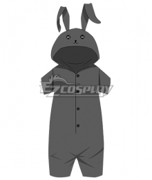 Yosuga No Sora Sky Of Connection Sora Kasugano Black Rabbit Pajamas Cosplay Costume