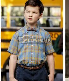 Young Sheldon Sheldon Cooper Cosplay Costume