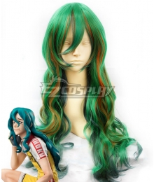 Yowamushi Pedal Yuusuke Makishima Green Cosplay Wig