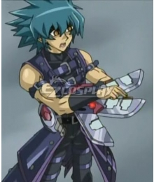 Yu-Gi-Oh! GX Johan Andersen Yubel Duel Disk Cosplay Weapon Prop