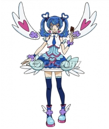Yu-Gi-Oh! VRAINS Blue Angel Aoi Zaizen Cosplay Costume