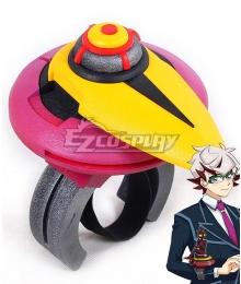 Yu-Gi-Oh! VRAINS Takeru Homura Soulburner Duel Disk Cosplay Accessory Prop