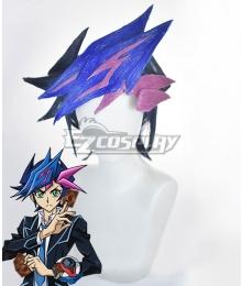 Yu-Gi-Oh! VRAINS Yusaku Fujiki Playmaker Blue Cosplay Wig